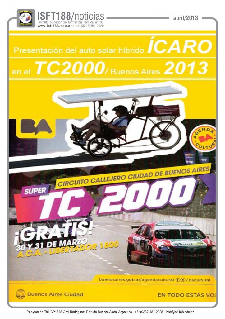 icaro tc2000 - 2013