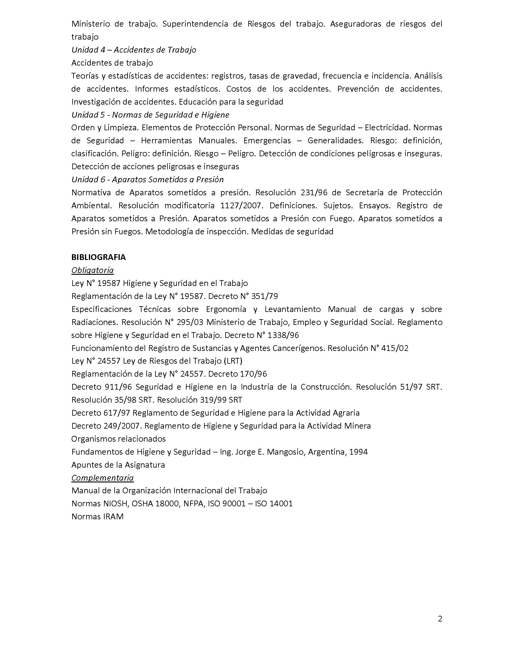 Programa analitico de la asignatura - Seguridad I_Page_2